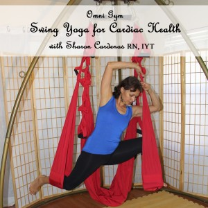 DVD Cover for Cardiac Yoga on a Swing