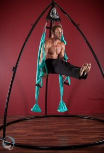 Yoga Aerial L-Sit Aerial Swing