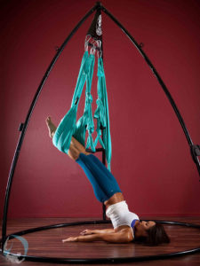 Yoga Inversion Shoulder Stand Aerial Swing