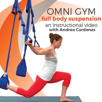 Full Body Suspension Work - with Andrea Cardenas